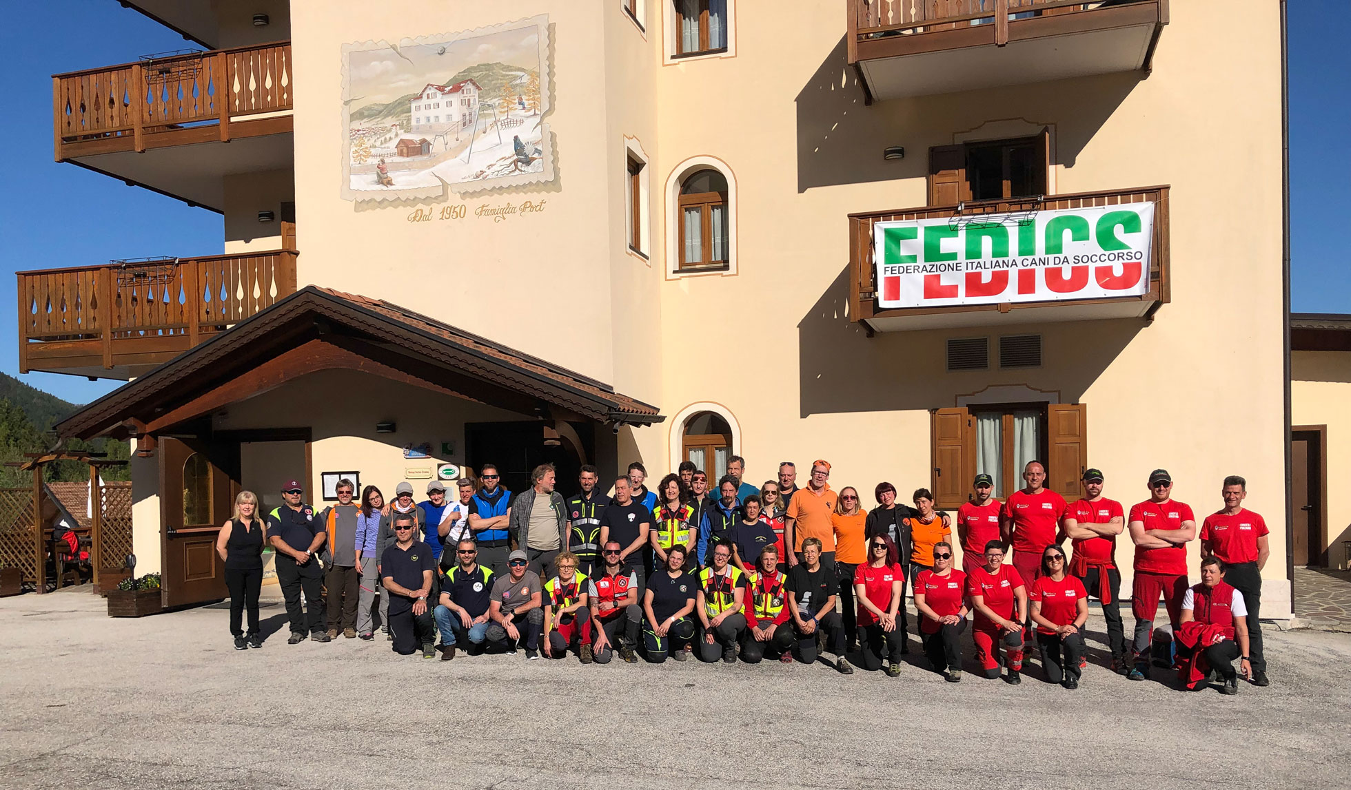 FEDERAZIONE ITALIANA <BR> CANI DA SOCCORSO
